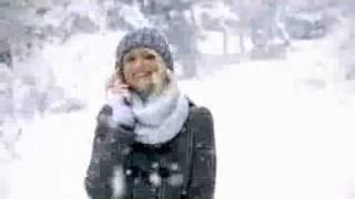 SoftBank「キャメロン・ディアス雪の中」篇