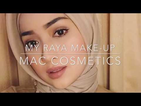 tutorial makeup simple and natural for raya 2019