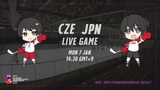 Live Stream Czech Republic vs. Japan - 2019 IIHF Ice Hockey U18 Women's World Championship