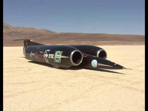 Thrust SSC - Still The Only Car To Travel Faster Than The Speed Of Sound
