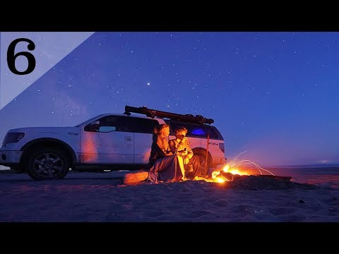 Truck Camping on The Beach! (Crab Fishing Attempt)