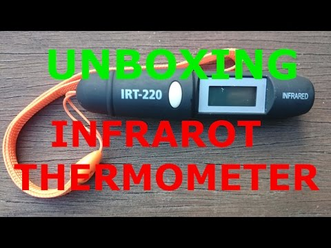 (UNBOXING) MINI INFRAROT THERMOMETER