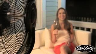 CoolZone Misting Fan by SUNHEAT