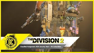 The Division 2 Classified Assignment: NSA Security Alert - Pizza Trophy and All Collectibles