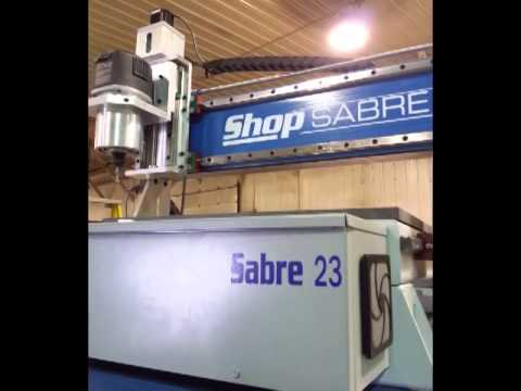 ShopSabre 23 CNC Routervideo thumb
