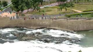 Mettur dam latest video   A View from Mettur Park