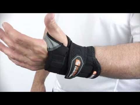 Shock Doctor Wrist Sleeve Wrap Support