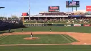 Javier Baez Spring Home Run - March 5, 2014