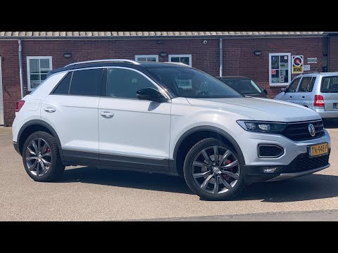 Volkswagen NEW T-roc Sport in 4K 2020 White Silver 18 inc Grange Hill walk around & detail inside