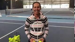Tuesday Tennis Tips: Hand feeding