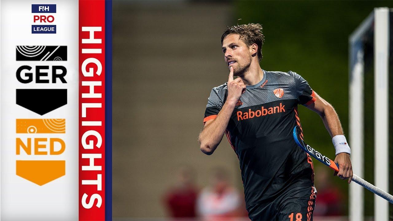 Germany v Netherlands   Week 14   Men's FIH Pro League
