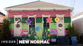 How New Orleans Is Decorating Thousands Of Homes To Keep Mardi Gras Alive | New Normal