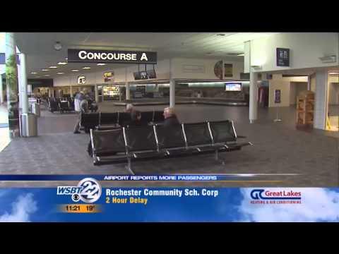 Passengers triple in 2013