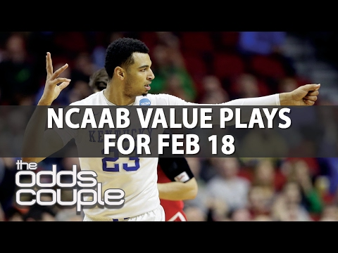 NCAA Basketball Picks | The Odds Couple | Saturday's Big Plays