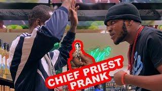AFRICAN CHIEF GREETING PRIEST PRANK