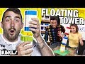 LEGO Floating Tower Challenge - REBRICKULOUS