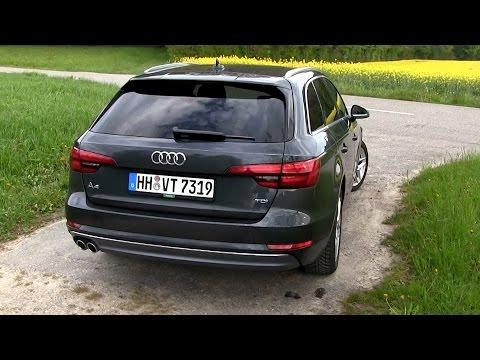 Audi A4 Avant Универсал класса D - тест-драйв 2