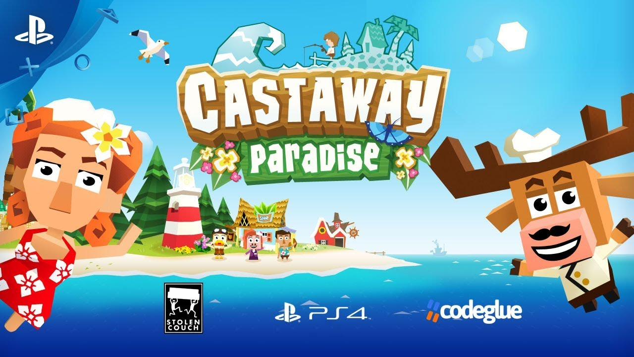Town-Building Sim Castaway Paradise Comes To PS4 July 31