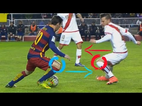 Lionel Messi Analysis ● How The Body Feint Skill Works FULL HD