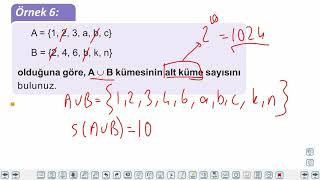 Eğitim Vadisi 9.Sınıf Matematik 5.Föy Kümeler 1 Konu Anlatım Videoları