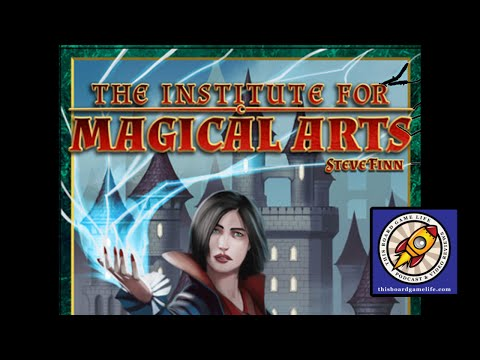 The Institute for Magical Arts Preview - This Board Game Life