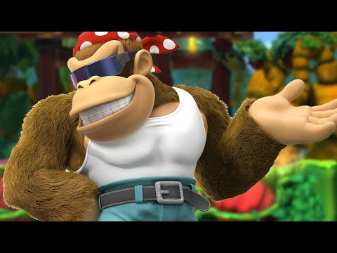 7 Minutes of Funky Kong in Donkey Kong Country: Tropical Freeze on Switch – PAX East 2018