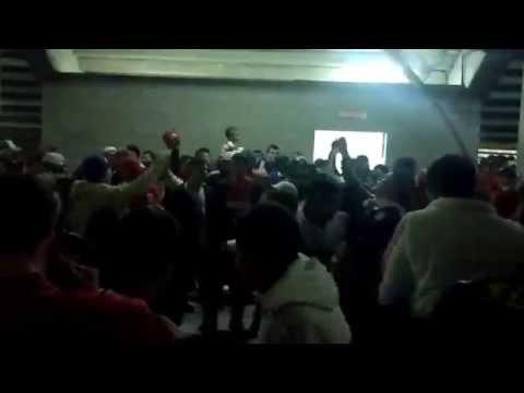 """""""Los borrachos de moron previa Moron 2 - Atlanta 1"""" Barra: Los Borrachos de Morón • Club: Deportivo Morón"""