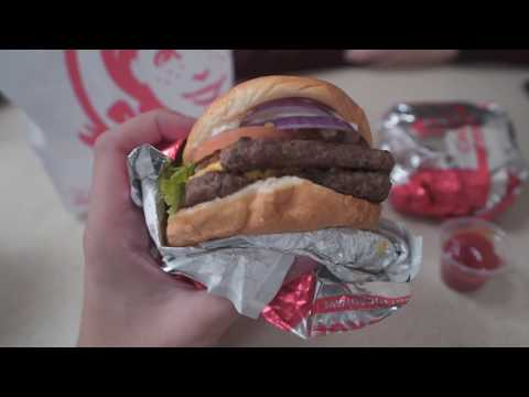 FAST FOOD REVIEW @Wendy's NY