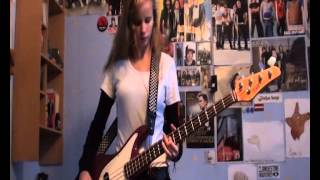 Anti-Flag - Red, White and Brainwashed bass cover
