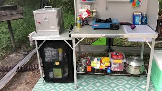 Ginnie Springs Campsite Tour | Members Mark LED Tent | My Camp Kitchen