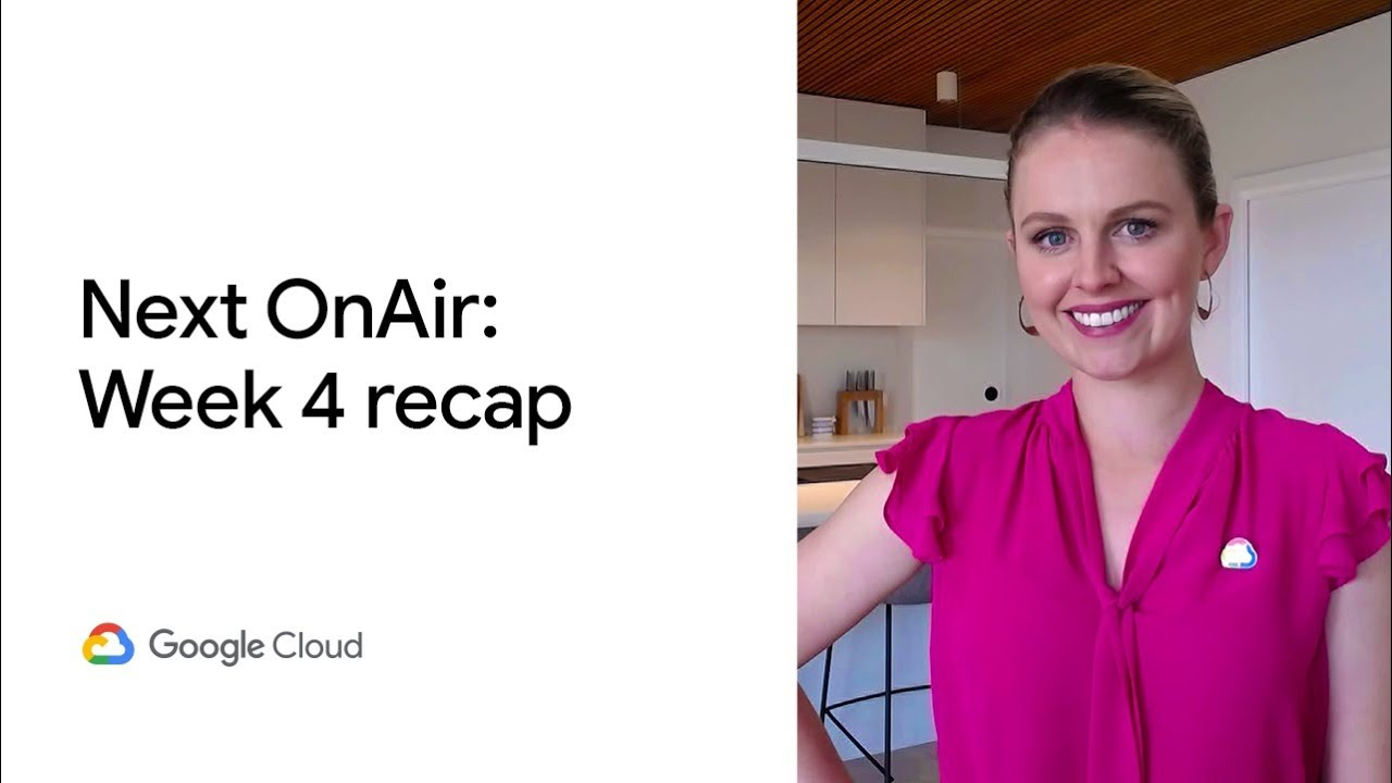 Thanks for joining Google Cloud Next '20: OnAir this week. The theme was security and there were plenty of digital learning opportunities, including a keynote (or two) plus breakouts for a deeper dive into a topic. It was all fresh content too, delivered on demand. Ready for week 5? Let's get solving.