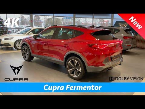 Cupra Formentor 2021 - FIRST look in 4K   Exterior - Interior (Desire Red Metallic) CRAZY LED BAR!!!