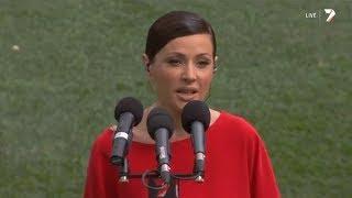 Tina Arena - National Anthem (Live at the AFL Grand Final 2013)