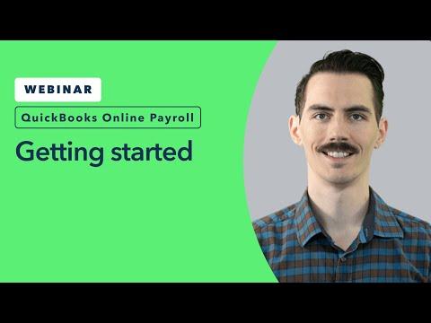 Getting Started in QuickBooks Online Payroll   QuickBooks Training Webinars