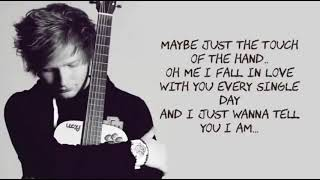 Thinking Out Loud   Ed Sheeran   Lyrics [ 1 Hour Loop   Sleep Song ]