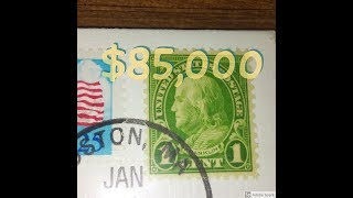 Mail Call Special RavenHawk Coins Sent Me A Rare Stamp Worth $85,000