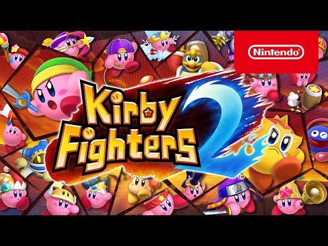 Trailer de présentation Kirby Fighters 2 de Kirby Fighters 2