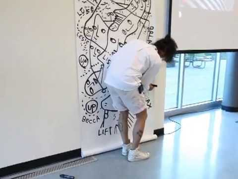 Clark College WA - Artist-in-Residence Shantell Martin