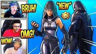 "STREAMERS REACT TO *NEW* ""FATE"" & ""OMEN"" SKINS! *LEGENDARY* Fortnite SAVAGE & FUNNY Moments"