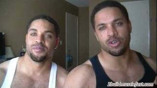 Physically Demanding Job and Building Muscle @hodgetwins
