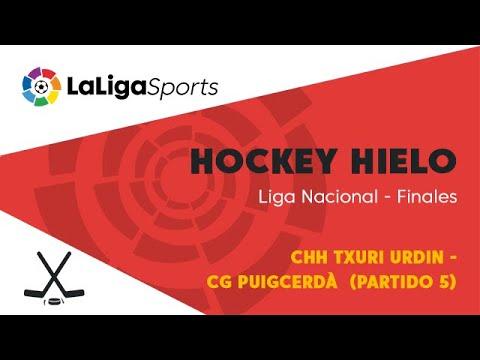 📺 Hockey hielo | Liga Nacional - Finales: CHH Txuri Urdin vs CG Puigcerdà (Partido 5)