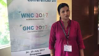 Dr. Thamara Amarasekara WNC 2017