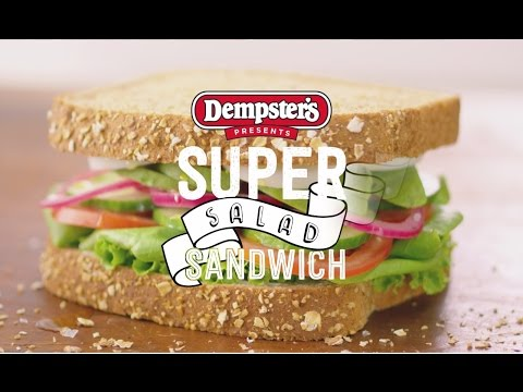 Dempster's Super Salad Sandwich