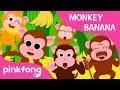 Monkey Banana Baby Monkey Animal Songs PINKFONG Songs for Children