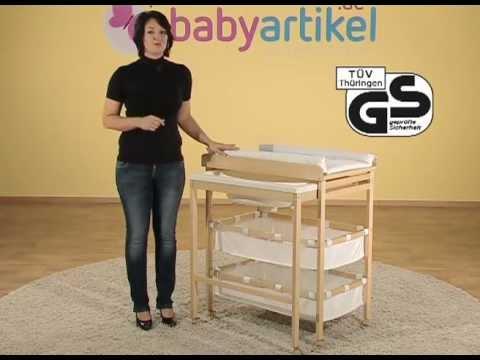 ROBA Bade-Wickel-Kombi ausziehbar | Babyartikel.de