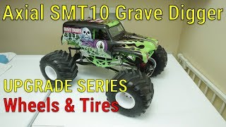 Axial SMT10 Grave Digger Upgrade Series - Part 5 - Wheels And Tires