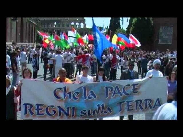 Cerimonia delle bandiere di pace, Roma 2010