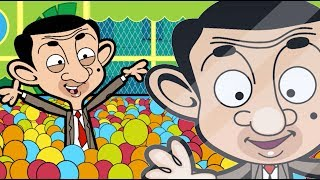 Ball pit BEAN | (Mr Bean Cartoon) | Mr Bean Full Episodes | Mr Bean Official