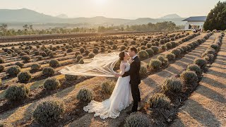 Keisha & Isaac - Our Wedding Ceremony From Kooroomba Lavender Farm