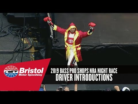 2019 Bristol Night Race Driver Introductions